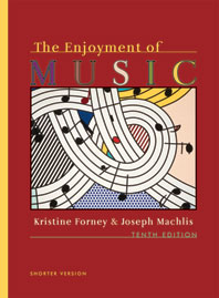 The Enjoyment of Music An Introduction to Perceptive Listening Shorter Tenth Edition