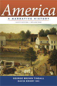 America A Narrative History Ninth Edition  Volume 1