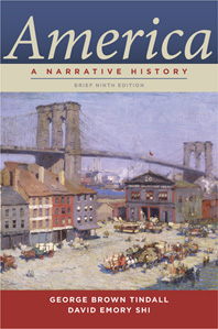 America A Narrative History Brief Ninth Edition  One-Volume