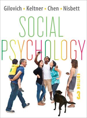 Social Psychology, 3e