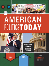 American Politics Today  Third Essentials Edition