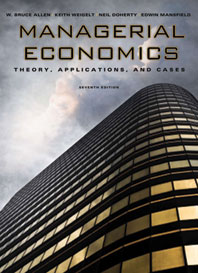 Managerial Economics Theory, Applications, and Cases Seventh Edition