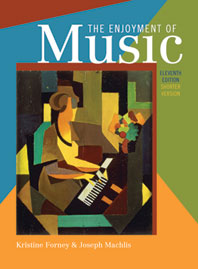 The Enjoyment of Music An Introduction to Perceptive Listening Shorter Eleventh Edition