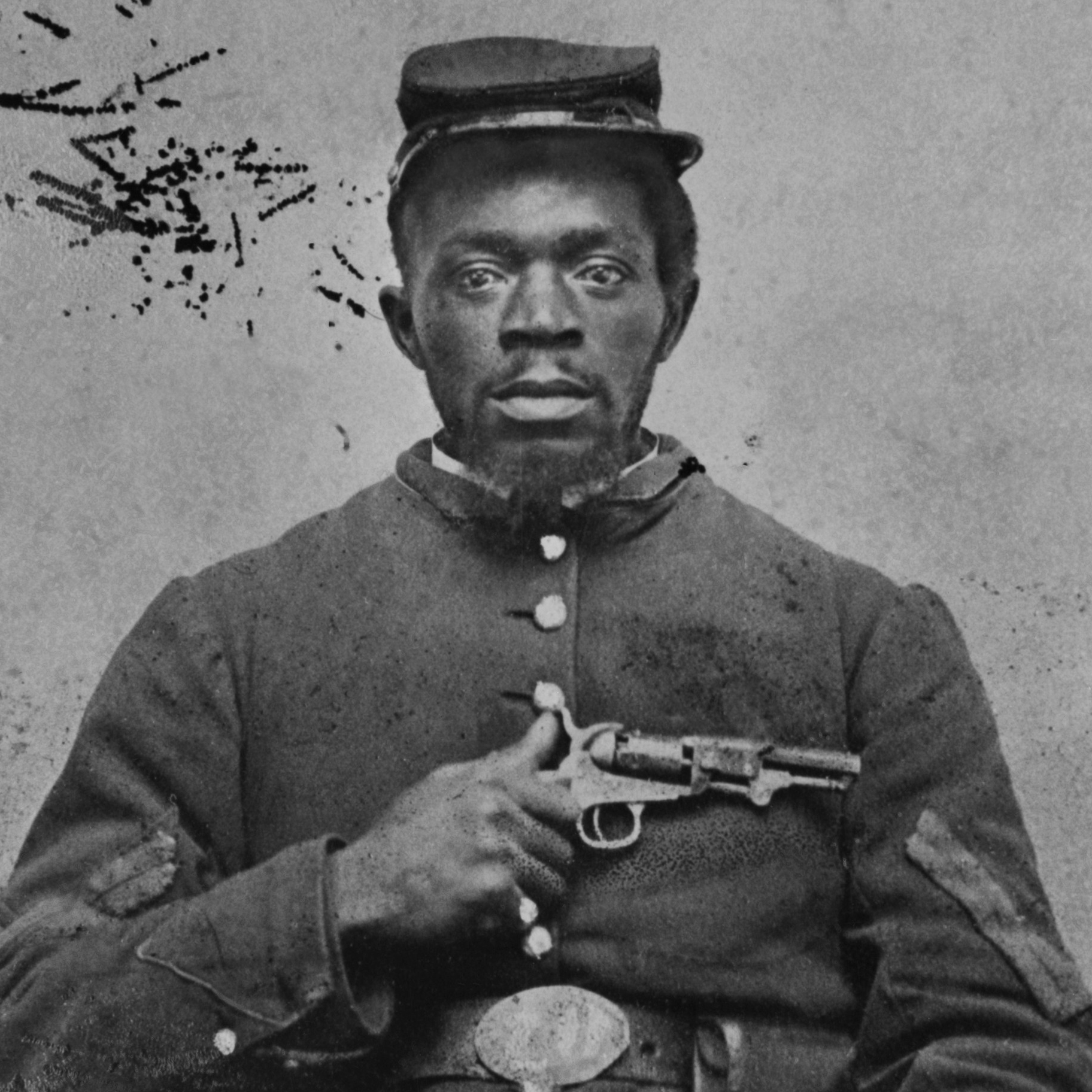 African American Union Soldier