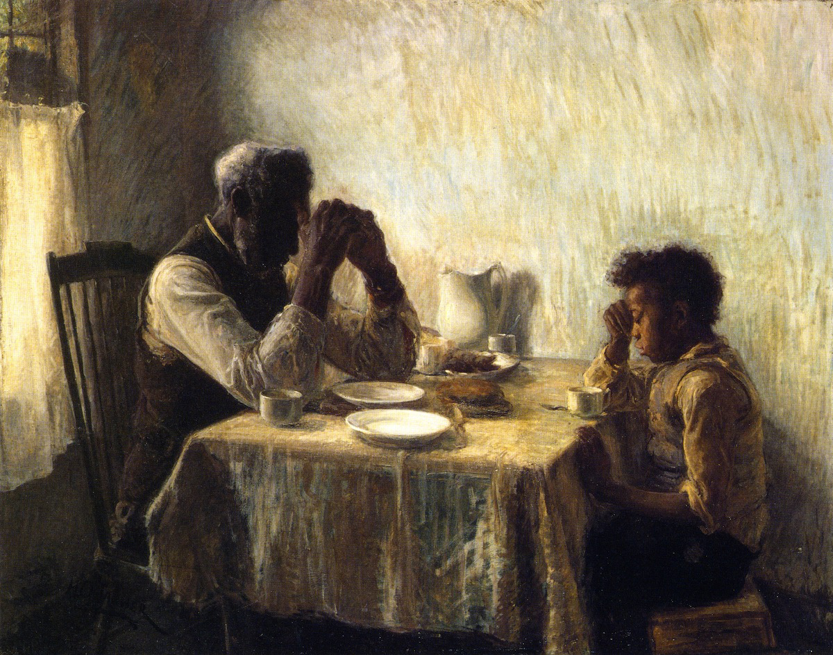 The Thankful Poor, Henry O. Tanner